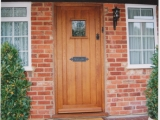 Oak entranc door