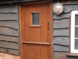 Mahogany stable door