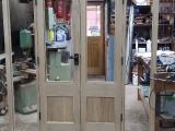 European Oak Frech Doors