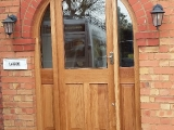 Semi Circular Oak Front Entrance Frame