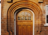 Edwardian oak door