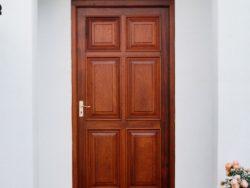 Victorian mahogany door