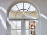 Painted fanlight doors