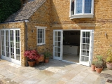 Geoargian Panel French Doors