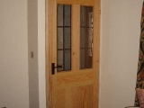 Douglas fir door