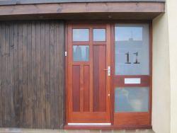 Sapele Front Entrance Frame