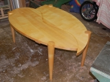 Contemporary Sycamore Dining Table