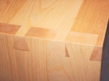 Detail of dovetails