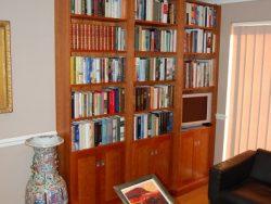 Cherry bookcases