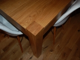 Contempary Oak Dining Table