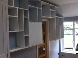 Fitted storage unit/bookcase