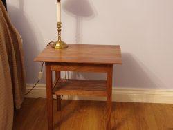American Black Walnut Side Table