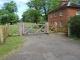 Hanbury Hall Gates