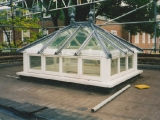 Painted roof lantern