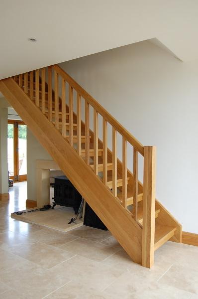 Oak Tread Stairs