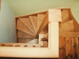 Ash cottage winding staircase