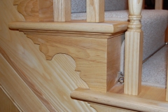 Detail of cut and mitre step
