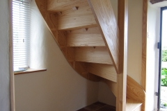 Ash Winding Staircase