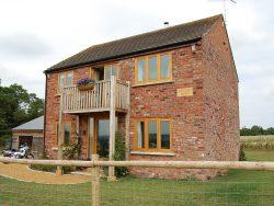 Oak Farmhouse Windows