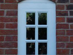 Georgian paned window