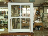 Douglas fir sash window
